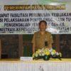 Wakili Walikota Tomohon, Mandagi Buka Rakor Kependudukan