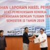 Wakil Walikota Manado Hadiri Penyerahan Laporan Hasil Pemeriksaan Semester II Tahun 2019