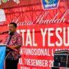 Gubernur Olly Hadiri Ibadah Pra Natal Kelompok Fungsional Lansia Sinode GMIM