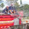 Pemprov Sulut Semprot 16 Ribu Liter Disinfektan di Manado