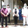 Cegah Penyebaran Corona, Wabup RD Pantau Penyemprotan Disinfektan