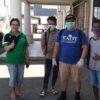 Cegah Penyebaran Covid-19,Pemuda GMIM Alfa Omega Tumpaan Lakukan Penyemprotan Disinfektan