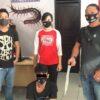 Ancam Sat Pol PP Pakai Sajam, Karyawan Swasta Diringkus Tim Lipan Polsek Malalayang