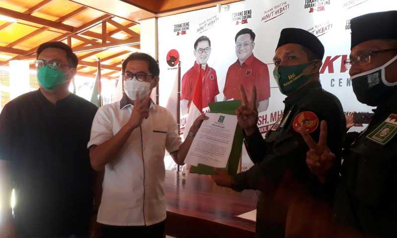 Deklarasi Sarhan Antili Menangkan Paslon JG-KWL Voor Minut Hebat
