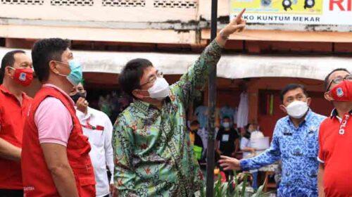 Cek Kondisi Infrastruktur Kota, Wali Kota Andrei Keliling Manado