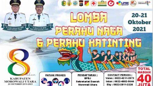 Tiba di Kolonodale, Tim Perahu Naga Kabupaten Banggai Langsung Latihan