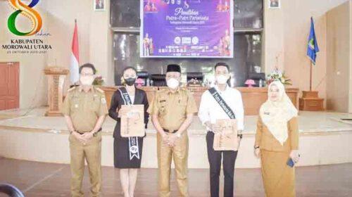 Diikuti 20 Peserta Utusan Kecamatan, Wabup Djira Buka Proses Seleksi Putra-Putri Pariwisata Morut